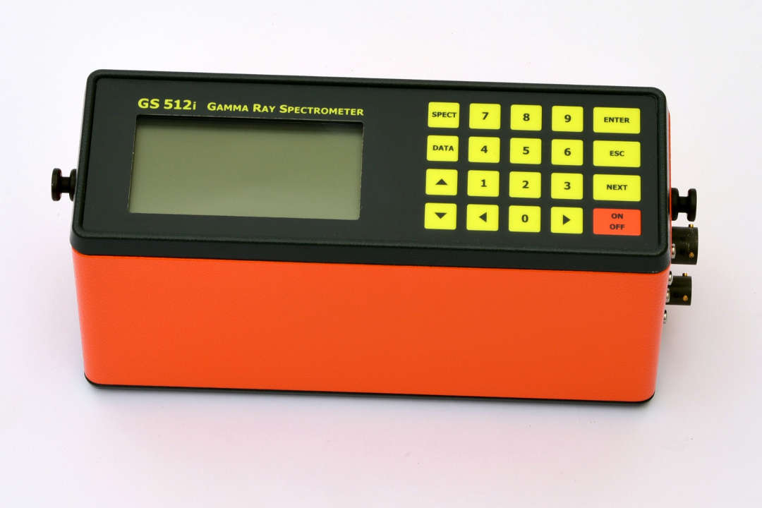 GS-512i Portable Gamma-Ray Spectrometer - main console