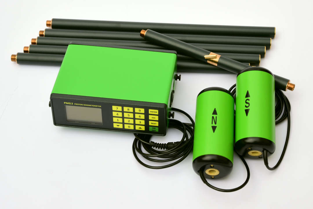 PMG-2 Proton Magnetometer and Gradiometer - with accessories