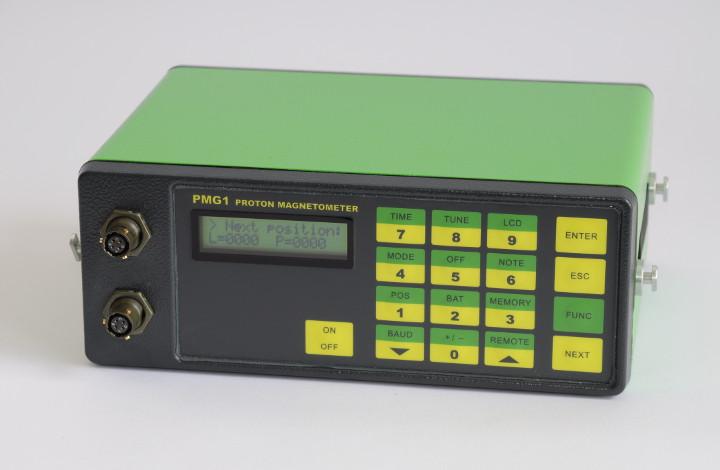 PMG-1 Proton Magnetometer and Gradiometer - main console